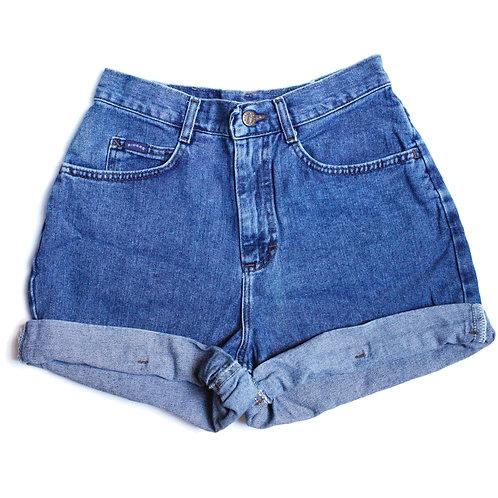 Vintage Lee High Rise Cuffed Shorts - 26/27