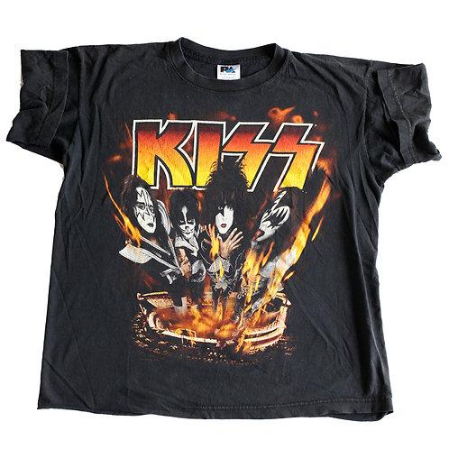 Vintage 1998 KISS Psycho Circus Live Indianapolis Black Graphic Band T-Shirt - L