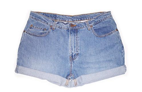 Vintage Jordache Medium Wash High Rise Shorts - Sz 33