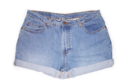 Vintage Jordache Medium Wash High Rise Shorts - Sz 33