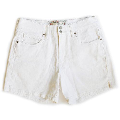 Vintage Levi's White High Rise Denim Shorts - 29/30 30