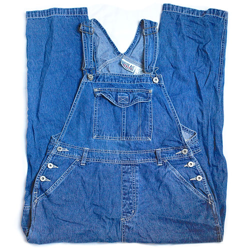 Vintage 90s Bill Blass Denim Overalls - M