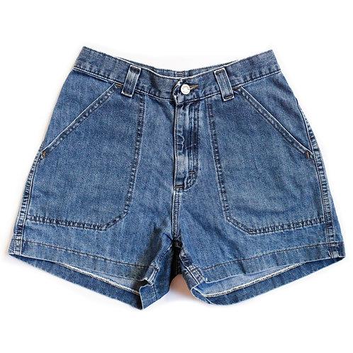 Vintage Lee Medium Wash Shorts - 25/26