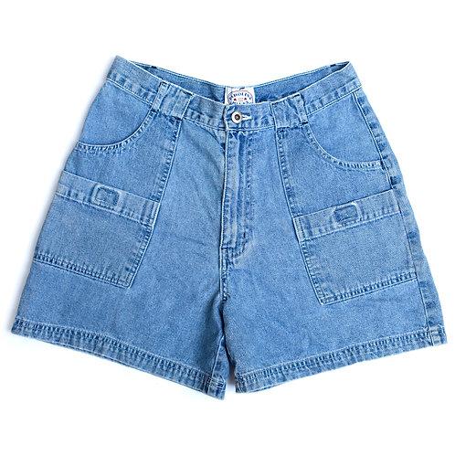 Vintage Carolina Blues High Rise Denim Shorts - 28/29
