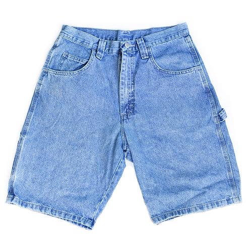 Vintage Wrangler Medium Wash Carpenter High Rise Denim Shorts - 30/31