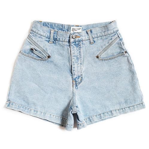 Vintage Merona Light Wash High Rise Denim Shorts - 28/29