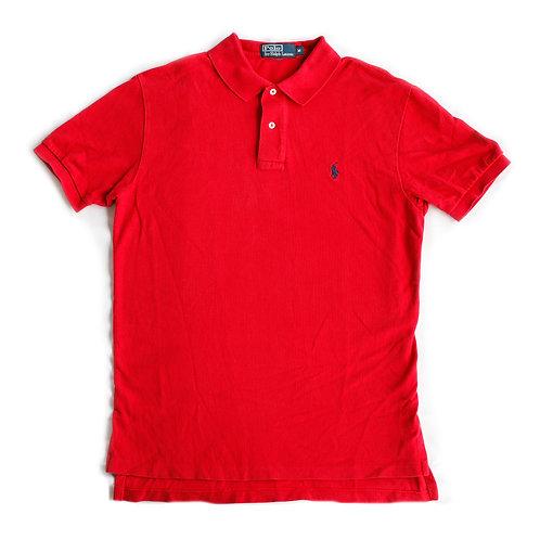 Polo Ralph Lauren Red Short Sleeve Shirt - M