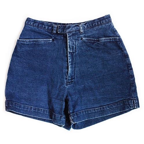 Vintage 70s/80s Medium Wash High Rise Shorts - 23/24