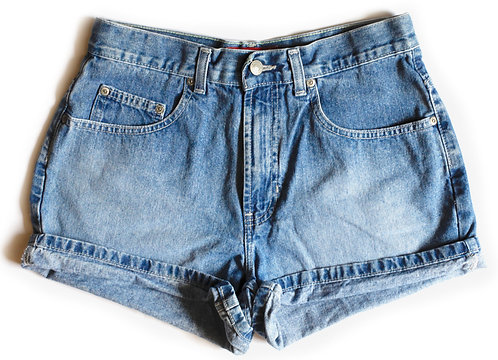 Vintage Old Navy High Rise Denim Shorts - 27/28