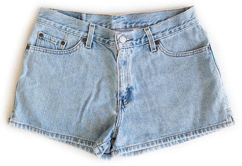 Vintage Levi's Light/Medium Blue Wash High Rise Shorts - Sz 30