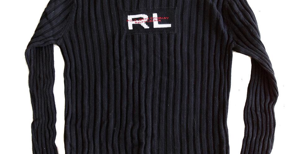 Vintage 90s/Y2k Ralph Lauren V-Neck Pullover Ribbed Sweater