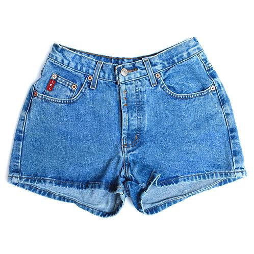 Vintage l.e.i. Mid Rise Denim Shorts - 23/24