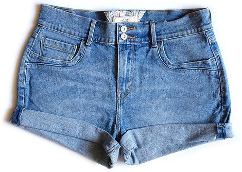 Vintage Levi's Mid Rise Denim Shorts - 30/31