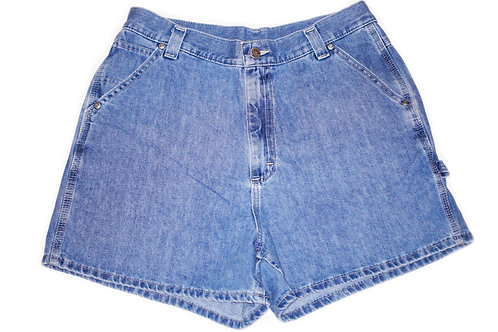 Vintage Lee Medium Wash High Rise Shorts – Sz 33