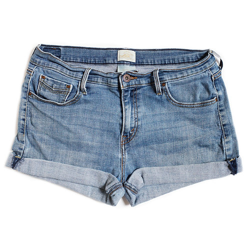 Vintage Levi's 515 High Rise Denim Shorts - 32