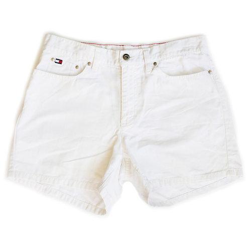 Vintage Tommy Hilfiger White High Rise Shorts - 28/29