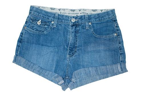 Vintage Lee Medium Wash High Rise Cuffed Shorts - Sz 29