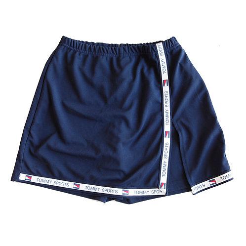 Vintage 90s/y2kTommy HilfigerNavy Blue Logo Trim Tennis Skirt Skort