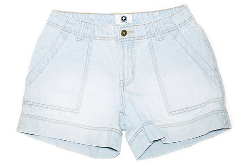Vintage Arizona Light Wash Mid-High Rise Shorts - Sz 24/25