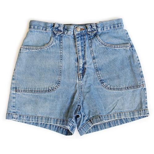 Vintage Bill Blass Medium Wash High Rise Denim Shorts - 29