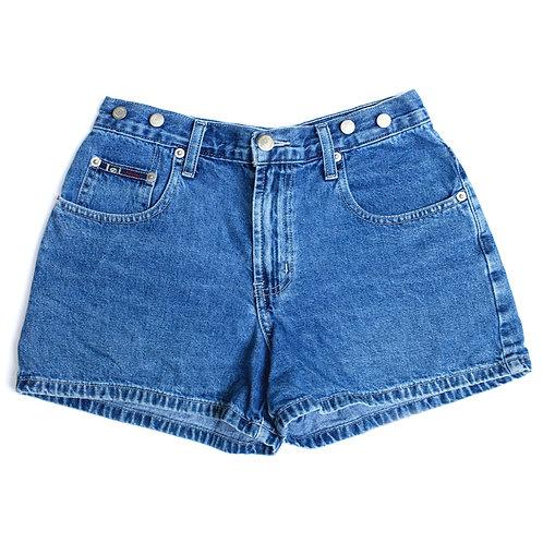 Vintage l.e.i. Mid Rise Denim Shorts - 24