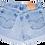 Vintage Levi's Light/Medium Wash High Rise Cut Offs Cuffed Shorts - Sz 29/30
