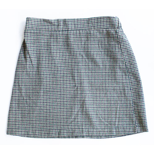 American Eagle Plaid A-Line High Rise Mini Skirt - XS