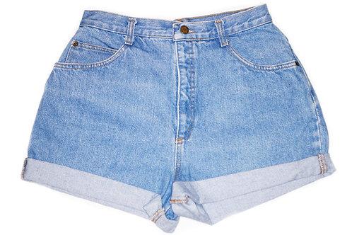 Vintage Light/Medium Wash High Rise Shorts – Sz 28