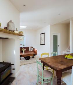 Comfortable open plan lounge/dining