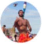 ov pollak  mr grumpy grumpy fitness juggling beach outdoors grumpy fitness outdoors juggling