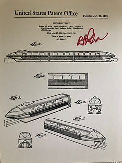 Disneyland Attraction Poster, Signed by Bob Gurr