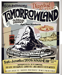 Vintage Disneyland Photos of Tomorrowland, Event