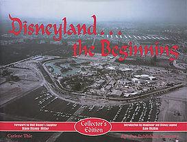 Disneyland The Beginning Book, Signed by Bob Gurr Carlene Thie, Rolly Crump
