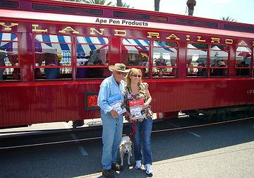Disney Legend Bob Gurr, Disney Author Carlene Thie, Kevin Kidney & Jody Daily.. Minnie Too!