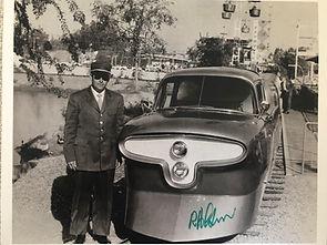 Disneyland Bob Gurr, Photo signed Print
