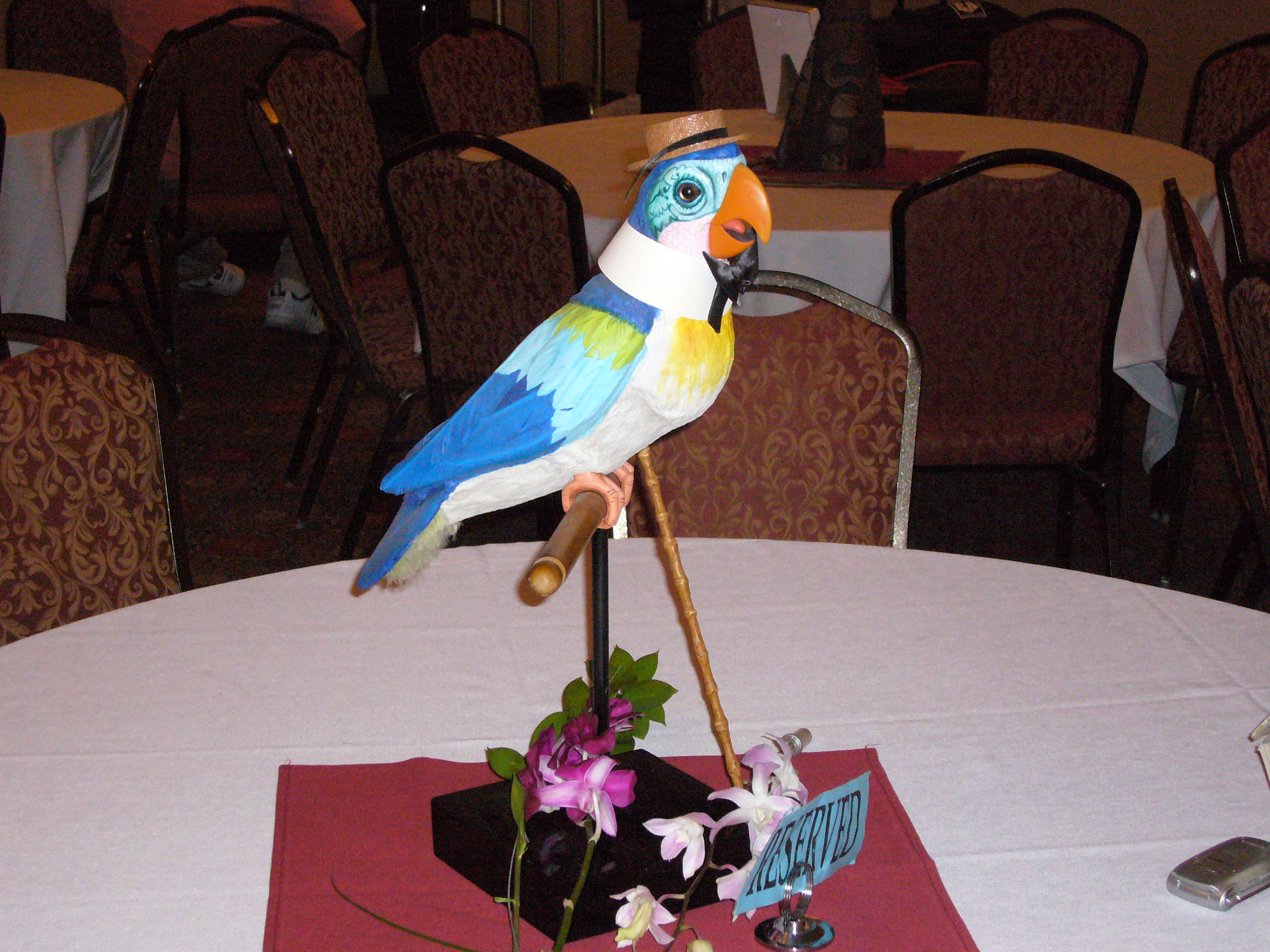 Tiki Bird at Golden Horseshoe Event