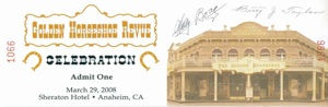 DISNEYLAND Golden Horseshe Revue Event Ticket