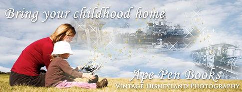 Disneyland Book, Disneyland Vintage Photography