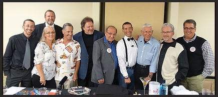 Disney Legend Bob Gurr, Michael Broggie, Marty Sklar, and Carlene Thie, Garner Holt, Christopher Crump