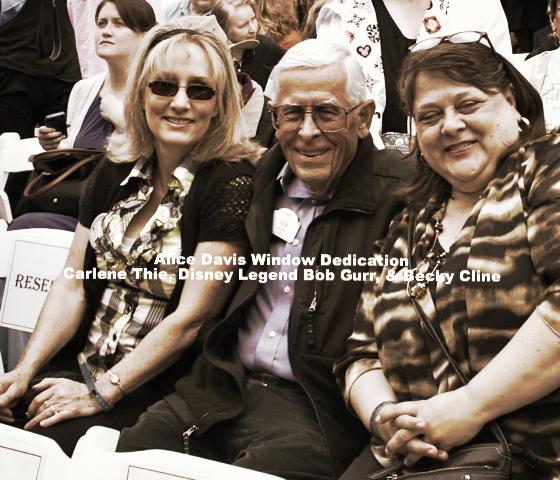 Carlene Thie, Bob Gurr, Becky Cline