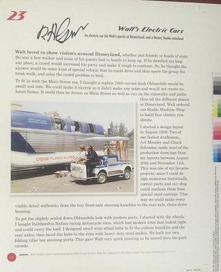 Disney Legend Bob Gurr Rare Disneyland Proof Pages, Disneyland Bob Gurr Book