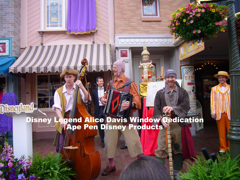 Disney Legend Alice Davis Window Ded