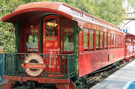Disneyland Lilly Belle Train Car History / Walt Disney & Lillian