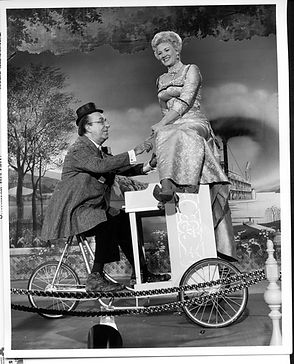 Disneyland Actor Ed Winn and Betty Talor Golden Horseshoe Show