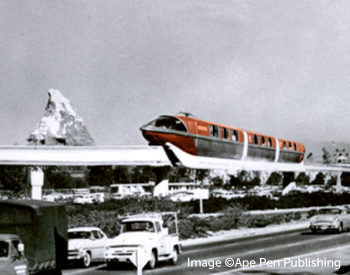 Disneyland Monorail Attraction Posters