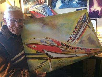 Disney Legend Bob Gurr Art of the Monorail