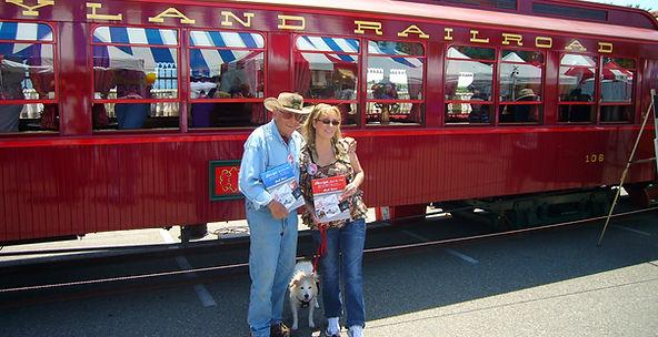 Disney Legend Bob Gurr, CarleneThie & Minnie