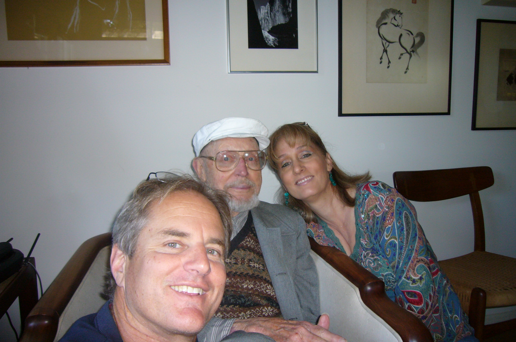 Wally Boag,Laurence Boag, & Carlene