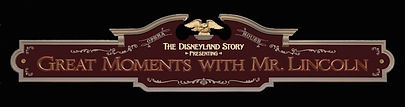 Disneyland Lincoln Blueprint