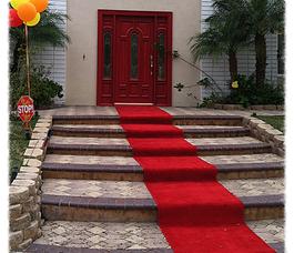 Red carpet entrance welcomed us~♪